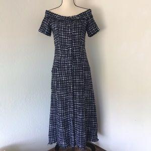 Zara boucle ling dress XS